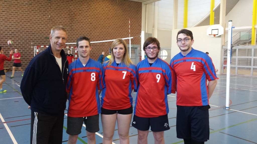 ème journée district en volley,le 9 décembre 2015